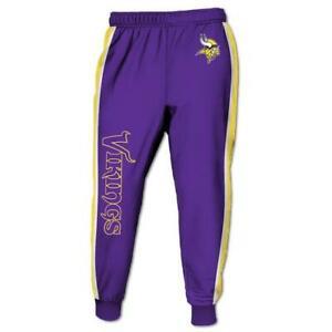 Minnesota Vikings Casual Joggers Sweatpants Pants Bottoms Gym Jogging Trousers