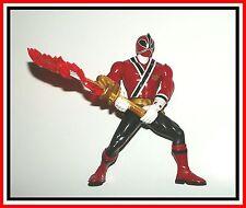 """2011 Power Rangers Samurai - 6"""" Sword Morphin Red Ranger _ ** Must See **"""