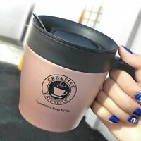 Thermal Cup Coffee Mugs Stainless Steel Thermos Vacuum Flask Home Water Bottle