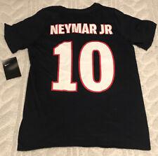 Neymar Jr Paris Saint Germain Jersey Shirt Nike Athletic Cut Boys Medium NWT