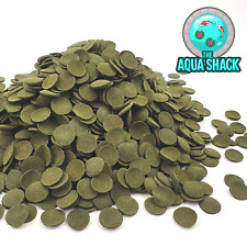 Spirulina & Algae Wafers Fish Food - Aquarium Tablet Sinking Pleco Shrimp Cory
