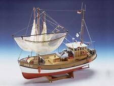 """classic, aufwändige modell schiff bausatz von krick: die """"sirius"""" fischkutter"""