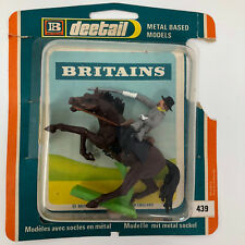 Britains Metal Base Mounted Confederate General w/package #439