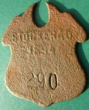 Old 1894 Stockerau - Austro-Hungarian Empire - dog tax tag