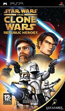 Star Wars: The Clone Wars - Republic Heroes PSP New