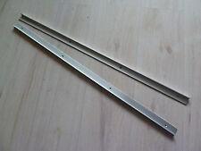Hülsta Now1 2 x Aluschienen für Schiebe Rolltüre, 83 x 2,8 x 1 cm sehr selten.
