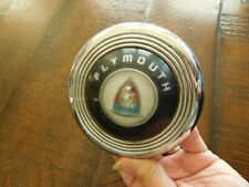 Plymouth Steering Wheel Horn Button 1946 1947 1948 Special Deluxe P14C P14J P14