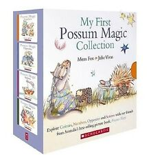 NEW My First Possum Magic Collection Mem Fox Colours Numbers Opposites Actions