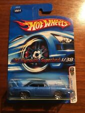 Hot Wheels 2006 First Editions '70 Plymouth Superbird #1 of 38 Brand New