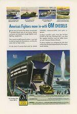 1944 General Motors Diesel Power Ad GM Military Landing Craft LST LCM LCI LCT GM
