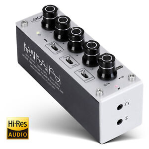 AmpEQ mobile Headphone Amplifier + Equalizer 3.5mm with rechargeable battery