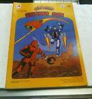 1986 Vintage Centurions Sticker Fun Book