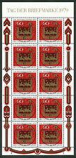 Bundespost 1023 Kleinbogen gestempeld