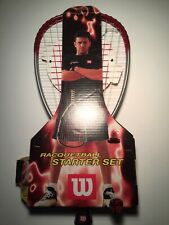 Wilson Racquetball Starter Set - Titanium Raquet and Goggles