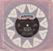 DAVID CASSIDY Romance (Let Your Heart Go) / Instrumental 45 Partridge Family