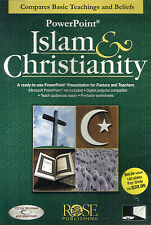 ISLAM & CHRISTIANITY POWERPOINT PRESENTATION CD by Rose Publishing.  **NEW**