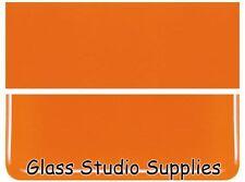 Bullseye Orange Opal Kiln Fusing Glass 90coe 125-30