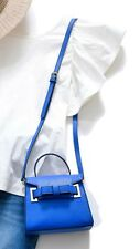 ☆ SAMANTHA THAVASA Mini M Chouchou Adult Blue Purse Authentic Not Sold in Store☆