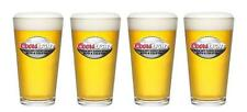 COORS LIGHT FOOTBALL KICK OFF A COLD ONE 4 BAR BEER PINT GLASSES NEW
