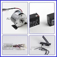 24 Volt electric motor kit w Batteries, Speed Control box & Foot Pedal Throttle