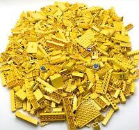 LEGO HUGE 3 POUND 7 OZ LOT OF YELLOW PIECES ASSORTED COLOR BULK BRICKS PARTS