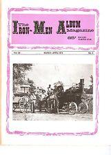 Ohio Steam Boiler Law, Lloyd Seidel, Steam Traction Engines, Iron Men Album