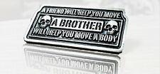 Bikerpin Brotherhood Brother friend Amitié patch Brouilleur dw0990