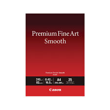 Canon Premium Fine Art Smooth A4 Paper (Pack of 25) 1711C001