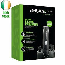 BaByliss Precision Beard Hair Trimmer Clippers Cordless Mustache Grooming Kit
