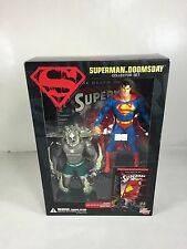 SUPERMAN VS. DOOMSDAY COLLECTORS SET - *INCLUDES 2 FIGURES AND TRADE PAPERBACK!*