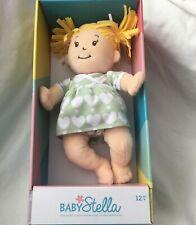 Manhattan Toy Baby Stella Blonde Soft Nurturing First Baby Doll for Ages 1 Year