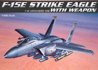 1/48 F-15E STRIKE EAGLE WITH WEAPON #12264 ACADEMY HOBBY MODEL KITS