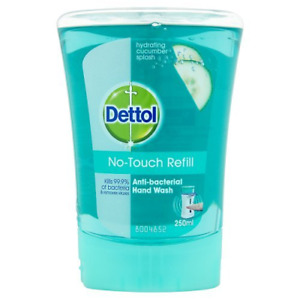 Dettol No-Touch Refill Hand Wash Refreshing Cucumber, 250ml