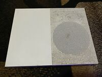 Microsoft Xbox One S 500GB White Console For Parts Or Repair