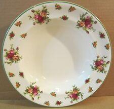 "Royal Albert Old Country Roses Cream ""Casual Classics"" Serving Pasta Bowl / Dish"