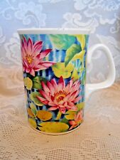 Collectible DUCHESS Fine Bone China Water Lilies Floral Cup/Mug- Made in England