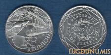 10 Euro Série des Régions 2011 Réunion Monuments Argent SUP