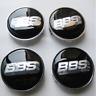 New 4Pcs 68mm BBS Alloy Wheel Center Caps Emblems Badges Rim Hub Caps
