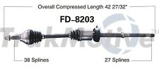 For Ford Explorer 3.5L 2011-2014 Front Pass Right CV Axle Shaft SurTrack FD-8203