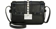INC FAANY Black STUDDED Crossbody Handbag
