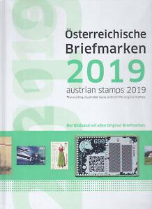 Österreich Briefmarken Jahrbuch 2019 mit GRÜNER CRYPTO Marke