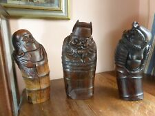 More details for antique chinese hand carved bamboo root immortal 14 1/2