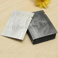 100pcs Silver Aluminum Foil Mylar Bag Vacuum Sealer Food Storage Package Pouches