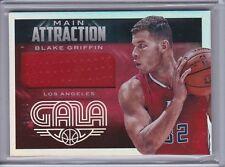 Blake Griffin 2014-15 Panini Gala Main Attraction Jersey /35