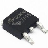 10PCS AOD5N50 D5N50 MOS TO-252 AOS