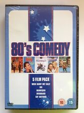 80'S Comedy(5xDVD)New+Sealed Big/Mannequin/Overboard/Say Anything/When Harry Met