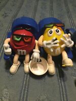 """M&M's """"Movie Theatre"""" Candy Dispenser And Backpack Lot"""