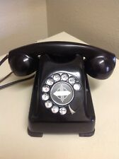 Vintage Original Kellogg Red Bar Bell Bakelite Rotary Telephone 1000 Series