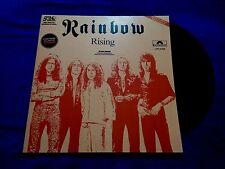 "Rainbow - Rising / Tarot Woman / A Light In The Black Rare 12"" Promo LP Polydor"