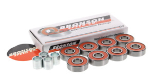 BRONSON SPEED CO G2 Next Generation Skateboard BEARINGS  with Spacers